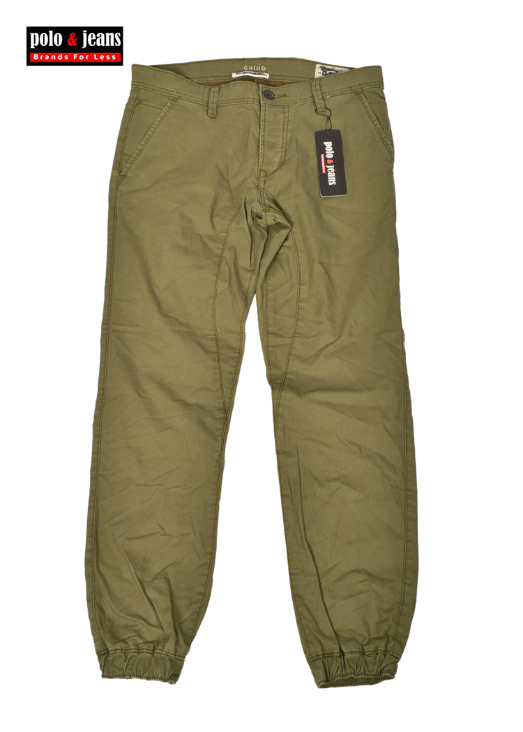 shades of great fit look for TOM TAILOR JOGGER FIT GREEN TROUSER PANTS