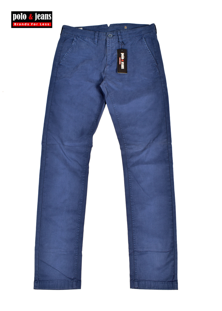 Chino Cotton Light Pant Lee Cooper Blue apYqKBx