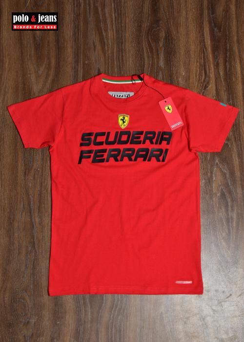 Ferrari Red T Shirt R N